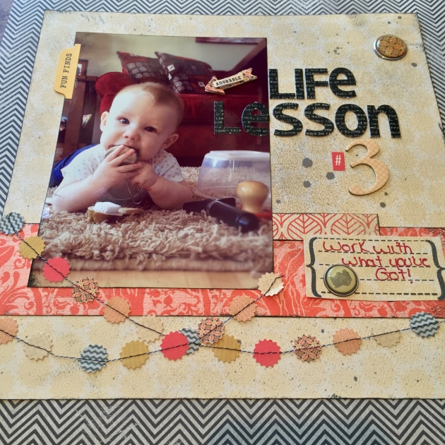 Life Lessons in a Scrapbook – Lesson #3