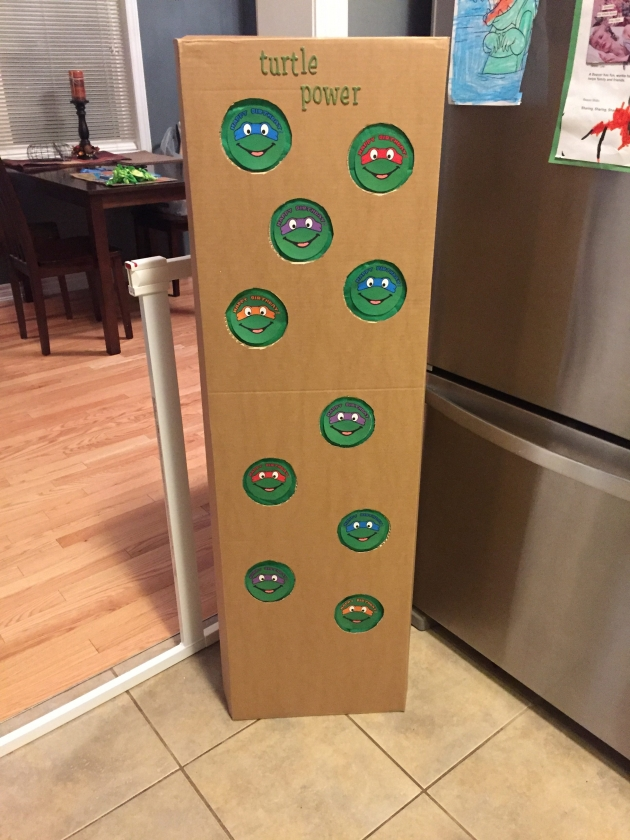 DIY – Punchboard Birthday Party Game